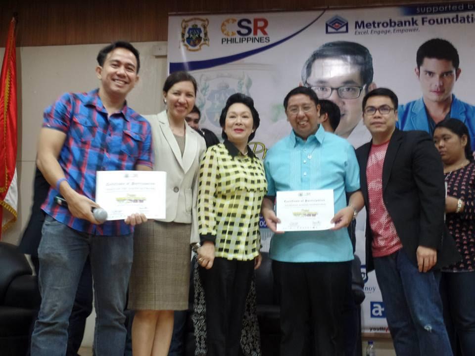 The VoiceMaster Supporting Project Resibo Ko Boto Ko Para Sa Bayan Ko