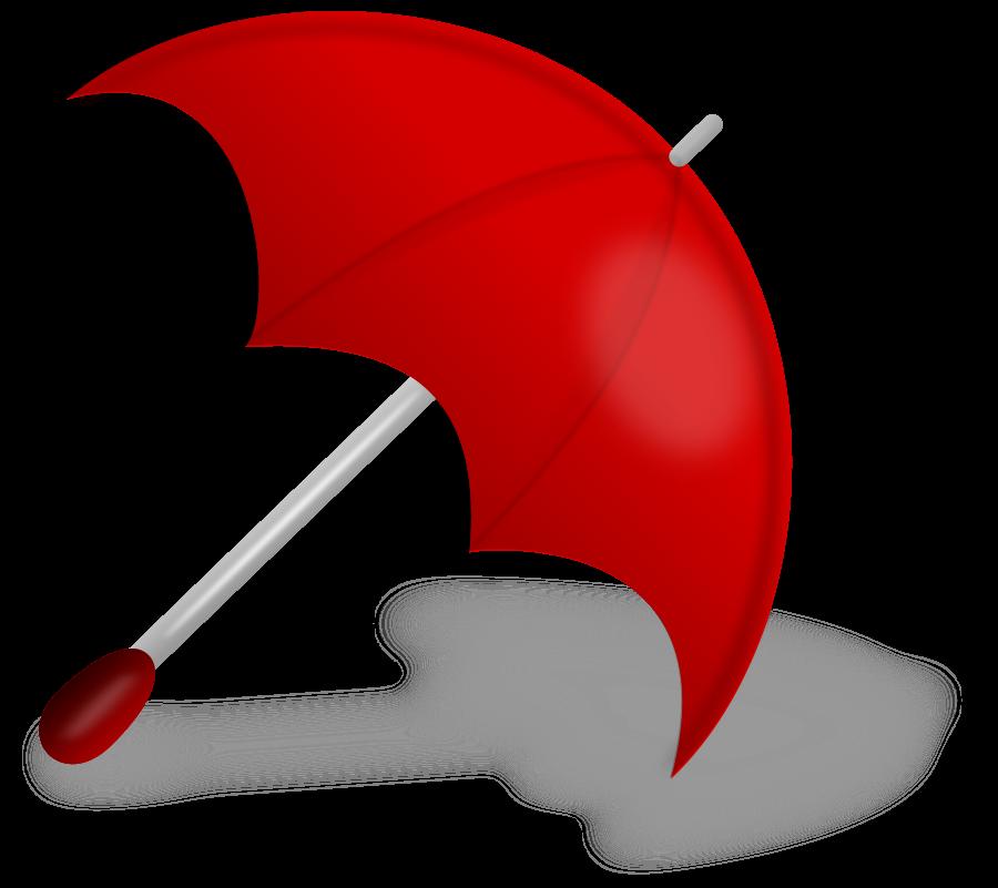 red clip art Red_umbrella_Vector_Clipart
