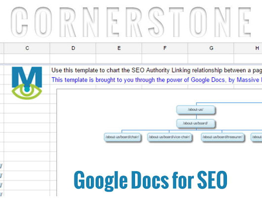 Google Drive is the Killer App for SEO Cornerstone Diagrams