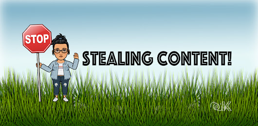 Were you ever virtually robbed? About content scrapers, stealing
