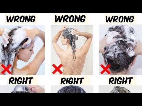 Common Hair-Washing Mistakes We All Make -Learn Professional Way To Wash
