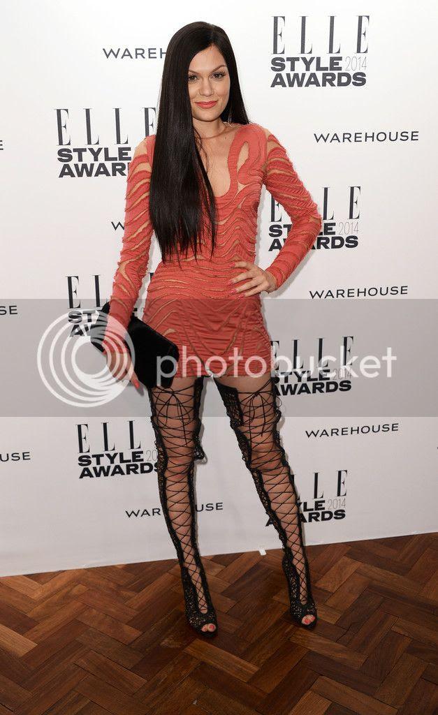 Jessie J at ELLE Style Awards...