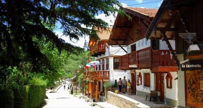 La Cumbrecita, un pueblo peatonal en el bosque.