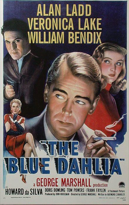Resultado de imagem para movie poster The Blue Dahlia