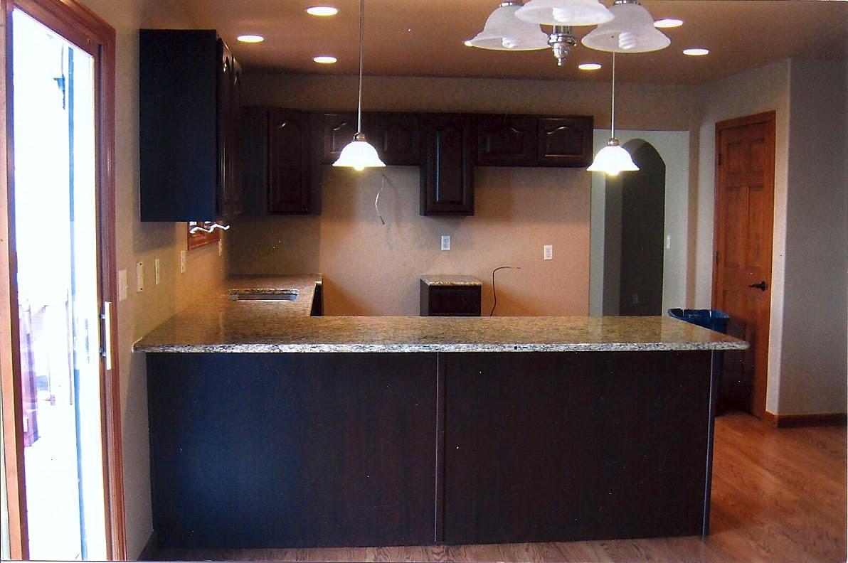 Espresso Kitchen Cabinets