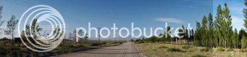 Dirt road in Malargüe