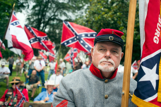 The fight over a Confederate emblem