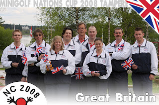 Great Britain at the 2008 Nations Cup in Tampere, Finland