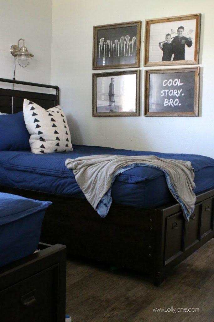 boys bedroom decor - Lolly Jane