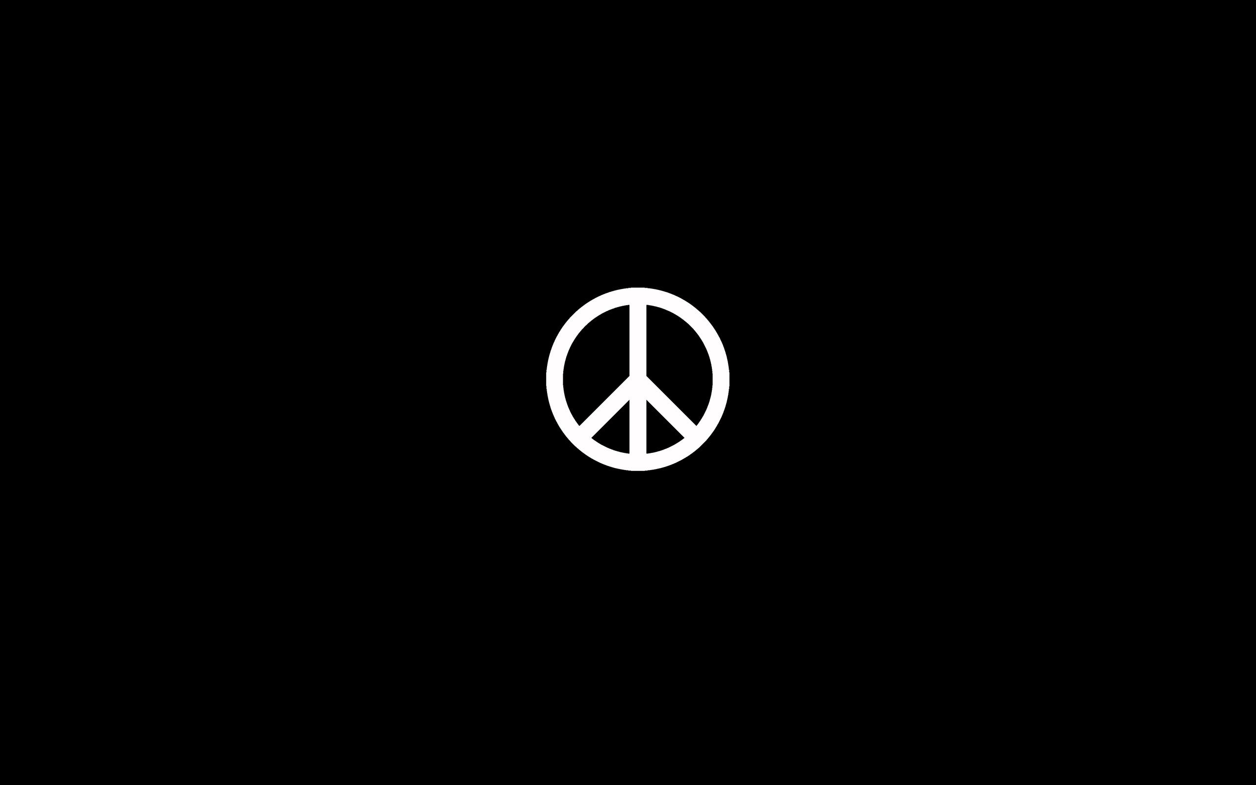 Peace Sign Wallpaper 2560x1600 55785