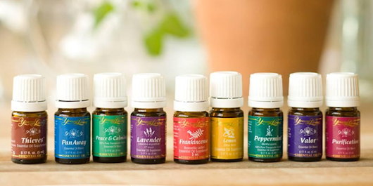 healing the body & managing hairloss with essential oils