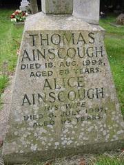 Thomas Ainscough (1907-1995) & Alice Ainscough (1904-1997)