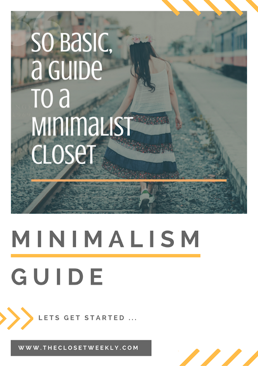 So Basic, a Minimalist's Closet | Culture | India | The Closet Weekly by Akansha