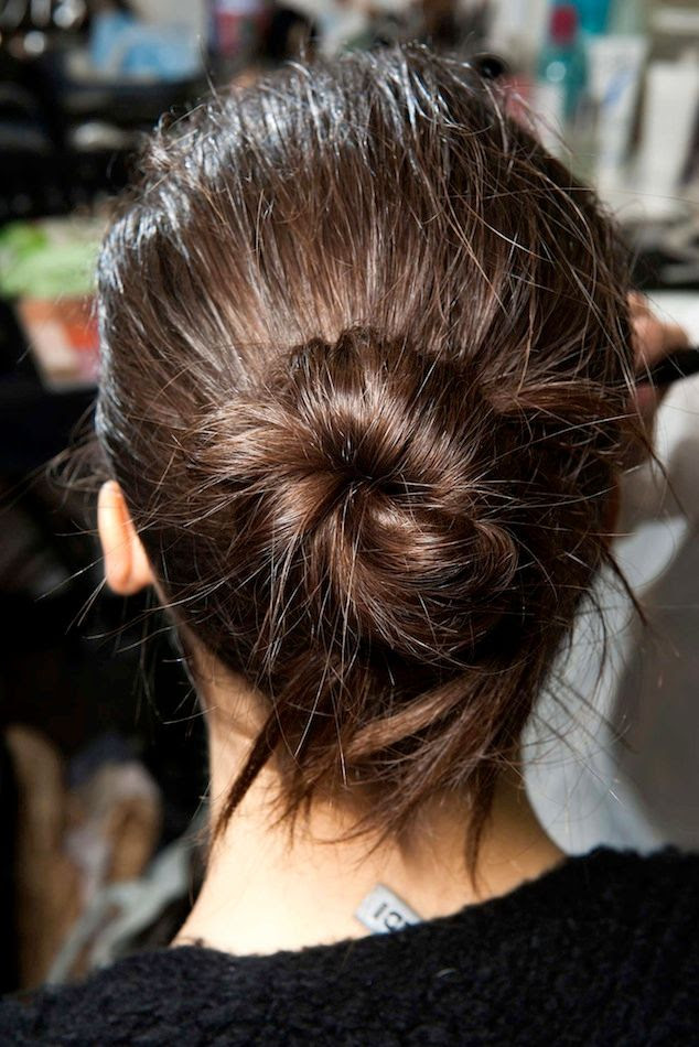 Le Fashion Blog Backstage Beauty Hair Inspiration Twisted Messy Buns Isabel Marant FW 2015 Brunette Up Do Top Knot photo 2-Le-Fashion-Blog-Backstage-Beauty-Hair-Inspiration-Twisted-Messy-Buns-Isabel-Marant-FW-2015-Brunette-Up-Do-Top-Knot.jpg