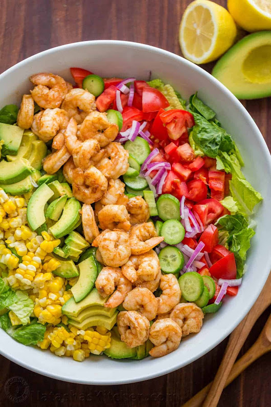Avocado Shrimp Salad Recipe