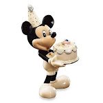 Lenox mickey's happy birthday to you- september