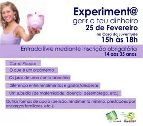 Experiment@ gerir o teu dinheiro