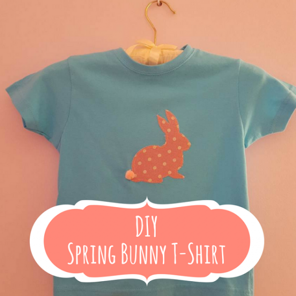 Keeping It Real DIY Spring Bunny T-Shirt