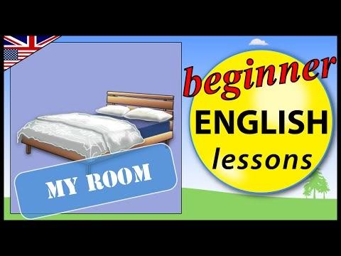 أسماء الأشياء فى غرفة النوم بالإنجليزية