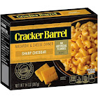 Cracker Barrel Macaroni & Cheese Dinner, Sharp Cheddar - 14 oz box