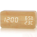 DZT1968 Alarm Clock Cool LED Clock Popular Pattern Night Light Color Clock