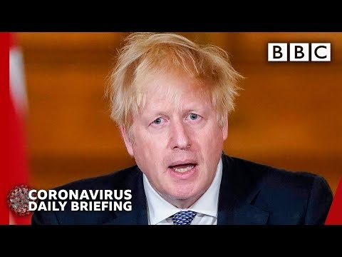 CORONAVIRUS: Boris Johnson: We are past the peak of disease - via BBC