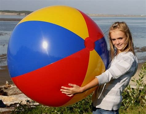 red blue yellow euro european style inflatable beach