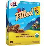 CLIF Kid ZBAR Filled Banana filled with Chocolate Peanut Butter Snack Bars - 10ct