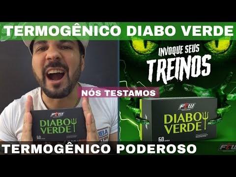 DIABO VERDE FTW UM DOS MELHORES TERMOGENICO DO BRASIL QUEIMA GORDURA DIMINUI APETITE E TIRA RETENÇÃO