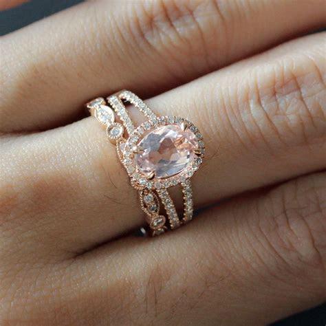 Best 25  Rose gold morganite ring ideas on Pinterest
