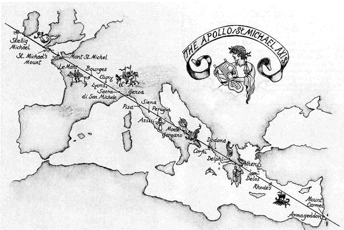 ligne Saint-Michel Apollon
