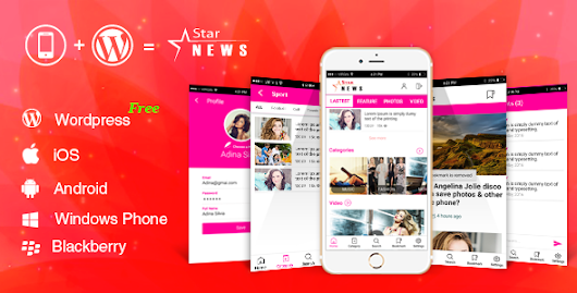 Download Source code       Full Android, iOS Mobile Application for Wordpress Website - Star News nulled | OXO-NULLED