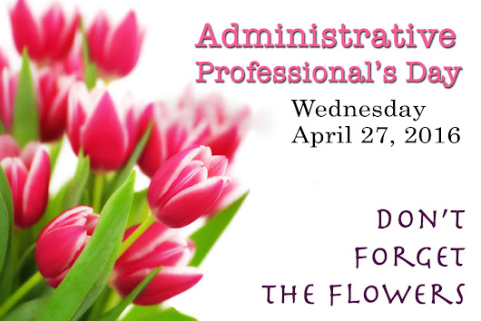 Administrative Professional's Day is This Week