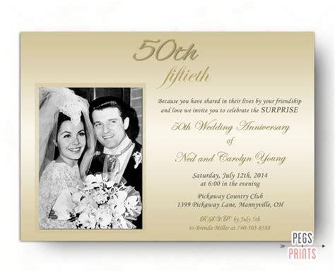 Mozjourney 50th Wedding Anniversary Stationery