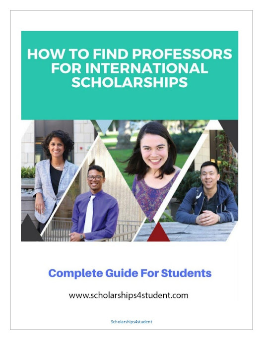 How to find Professors or Supervisors for Master and Phd Scholarships
