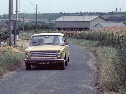 Lada 1200S (URSS, septembre 1978)