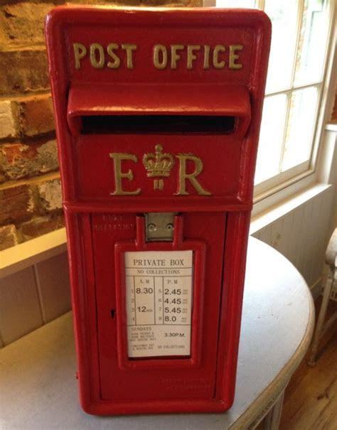 Cast Iron Red Post Box   Incabella Wedding Hire