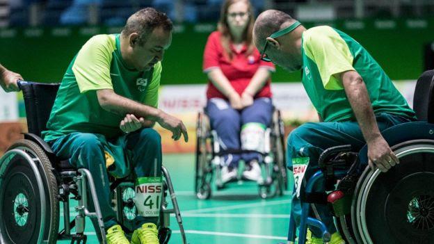 Resultado de imagem para 'Demorei a aceitar deficiência', diz paratleta da bocha ao ganhar prata com o irmão na Rio 2016