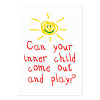 Inner Child Fun Card profilecard