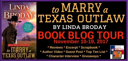 Blog Tour — To Marry A Texas Outlaw