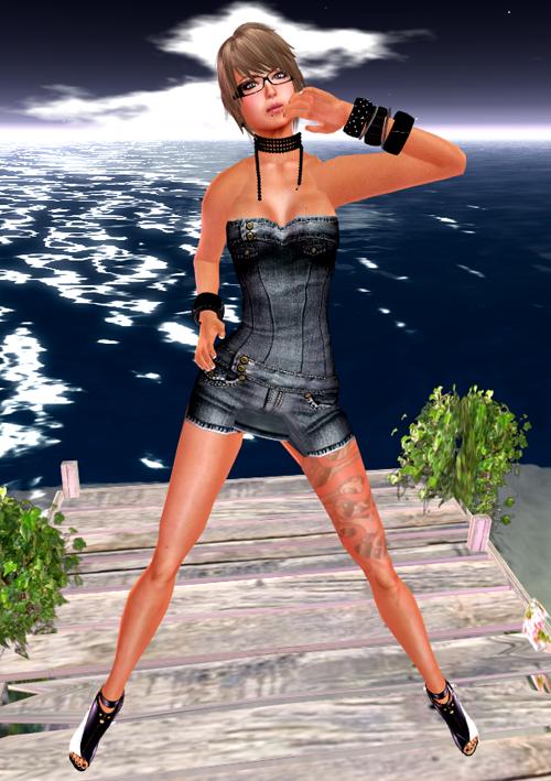 NEW! ::HH:: Hucci Tanya Denim Dress