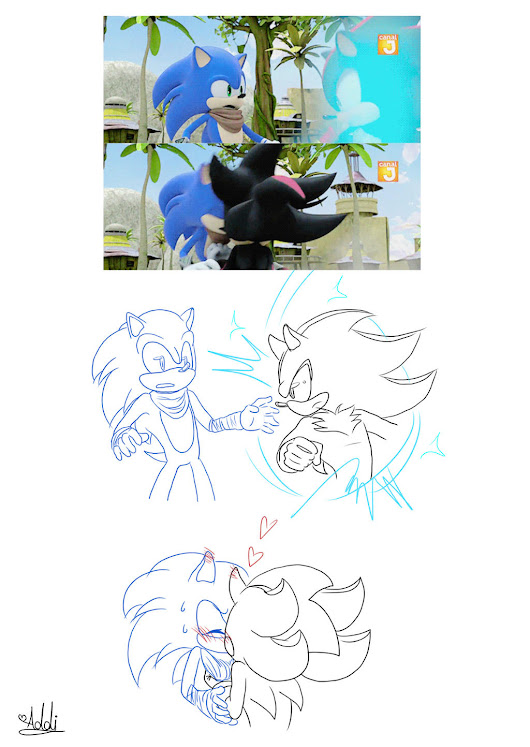 Image: sonadow comics favourites by jadyreb on DeviantArt