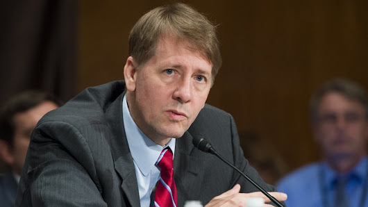 CFPB's Richard Cordray Stepping Down As Head Of U.S. Consumer Protection Agency : The Two-Way : NPR