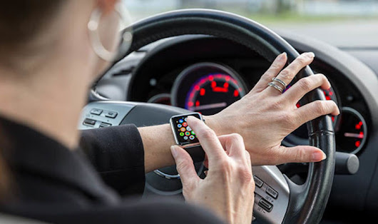 Using your Apple Watch while driving could land you a fine and penalty points