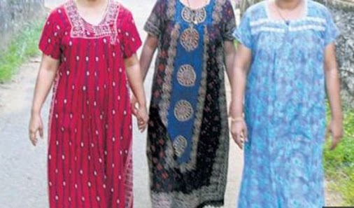 Wearing nightie on day time will be fined with 2000 in this village #Wearing #nightie #day #time #fined...