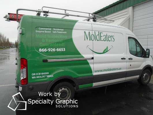 Boost Brand Power with Work Van Graphics for Your Ford Transit!