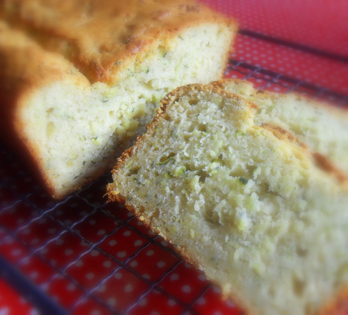 Zucchini Lime And Cardamom Cake