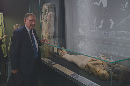 Dr Robert Connolly and the Garstang Mummy - Tetisheri