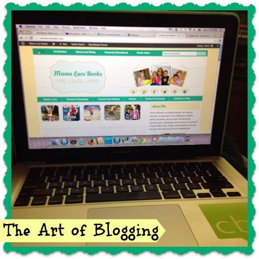 How to Create a Great Blog Post: The Art of Blogging - Mama Luvs Books