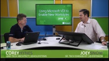 Using Microsoft VDI to Enable New Workstyles: (04) Hyper-V for VDI